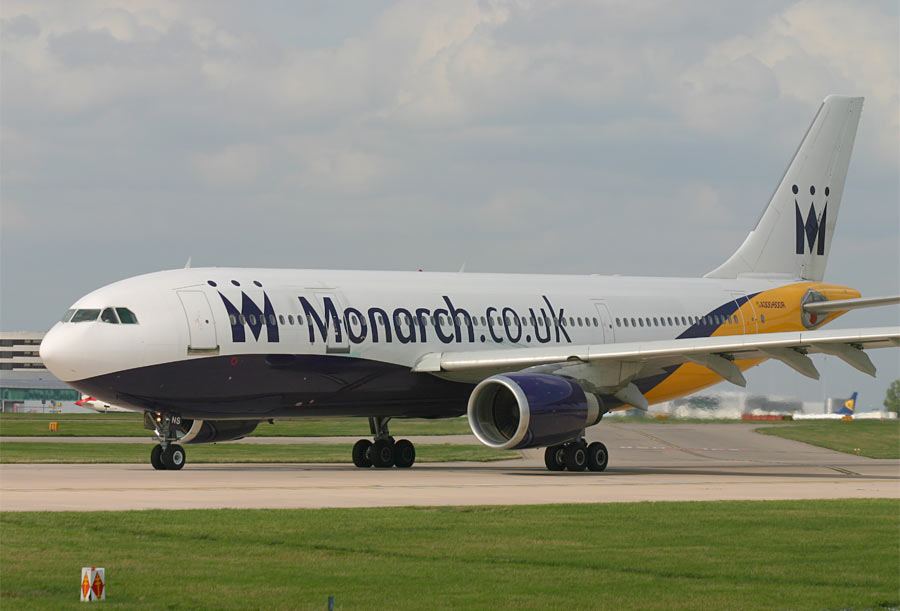 Airbus A300 Monarch Airlines