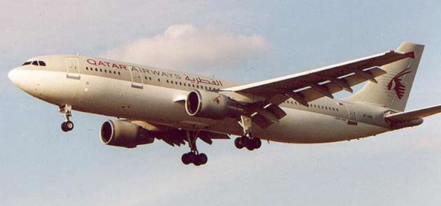 Airbus A300 Qatar Airways