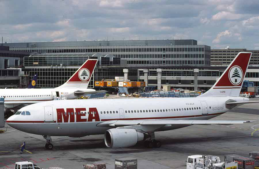 Airbus A310 MEA Middle East Airlines