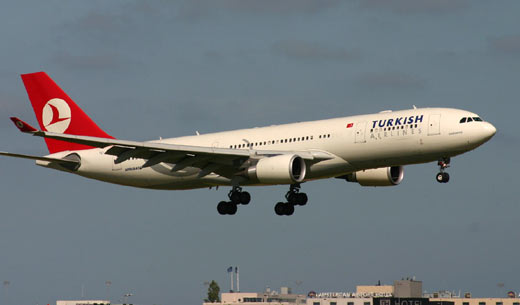 Airbus A330-200 THY Turkish Airlines