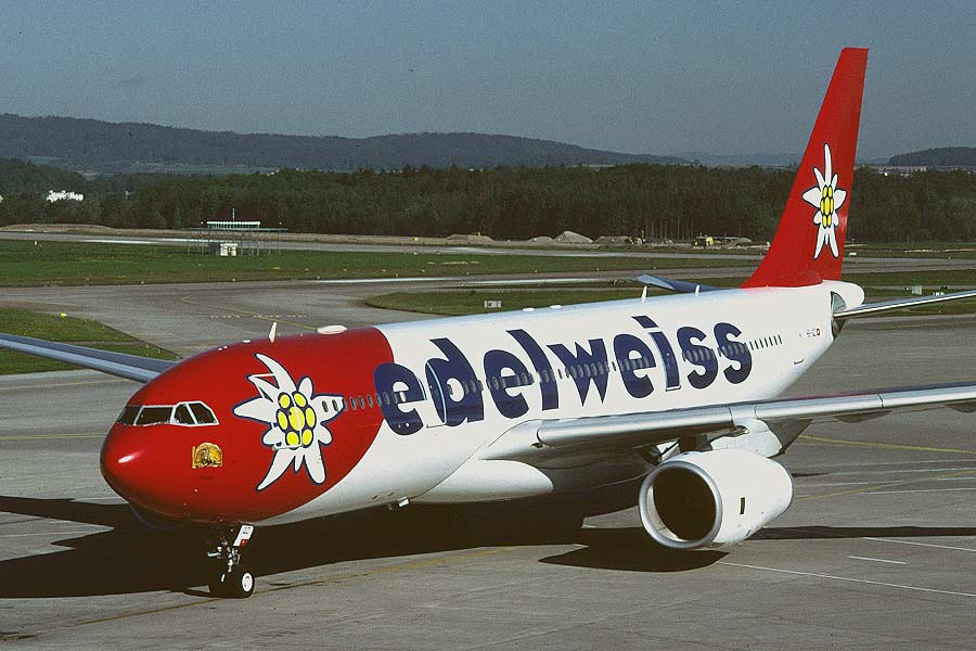 Airbus A330-200 Edelweiss