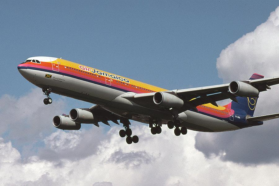 Airbus A340 - Air Jamaica - Widebody Aircraft Parade