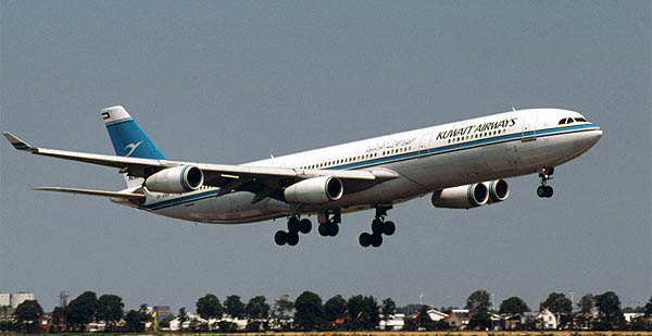A340 Kuwait Airways