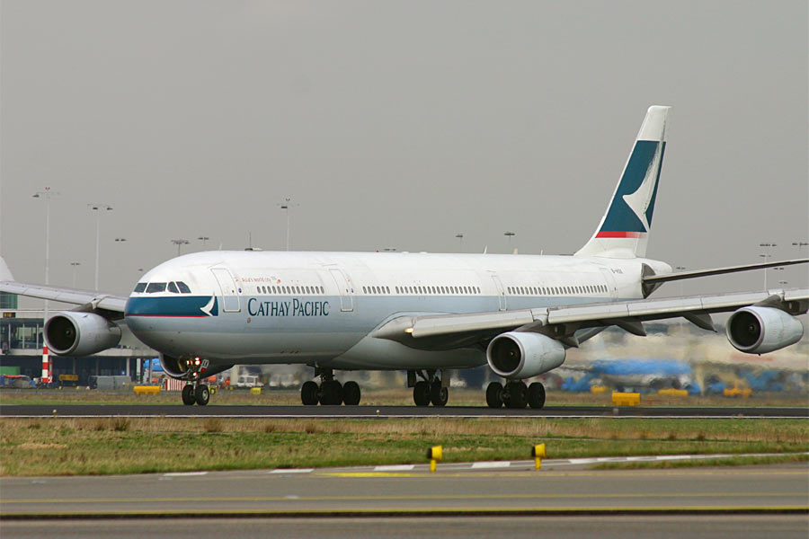 Airbus A340 Cathay Pacific