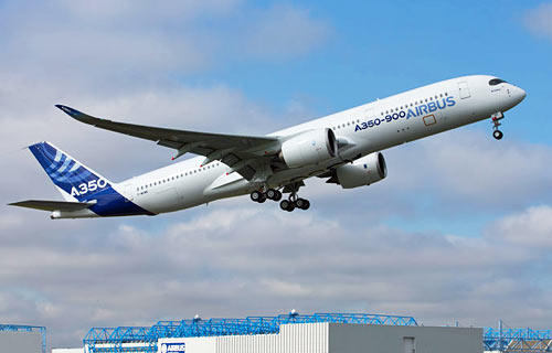 Airbus A350 XWB First flight