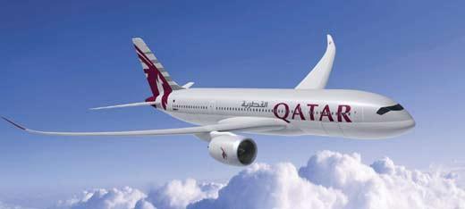 Airbus A350-800 Qatar