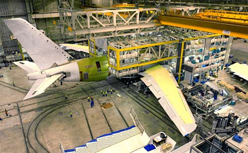 Airbus A380 Final assembly