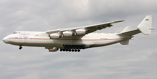 Russian Antonov 225 Cargo Airplane Eyesforyourimage