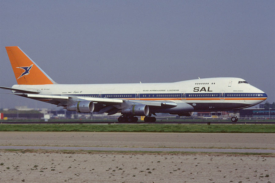 Boeing 747 South African Airways SAA
