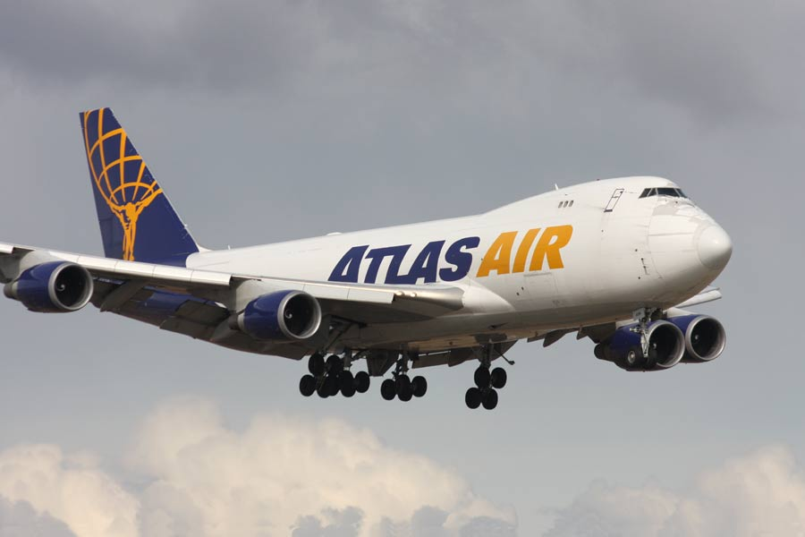 Boeing 747-400F Atlas Air