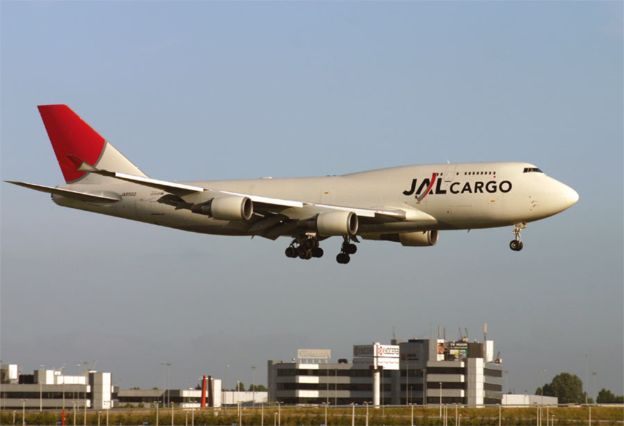 Boeing 747-400BCF JAL Cargo