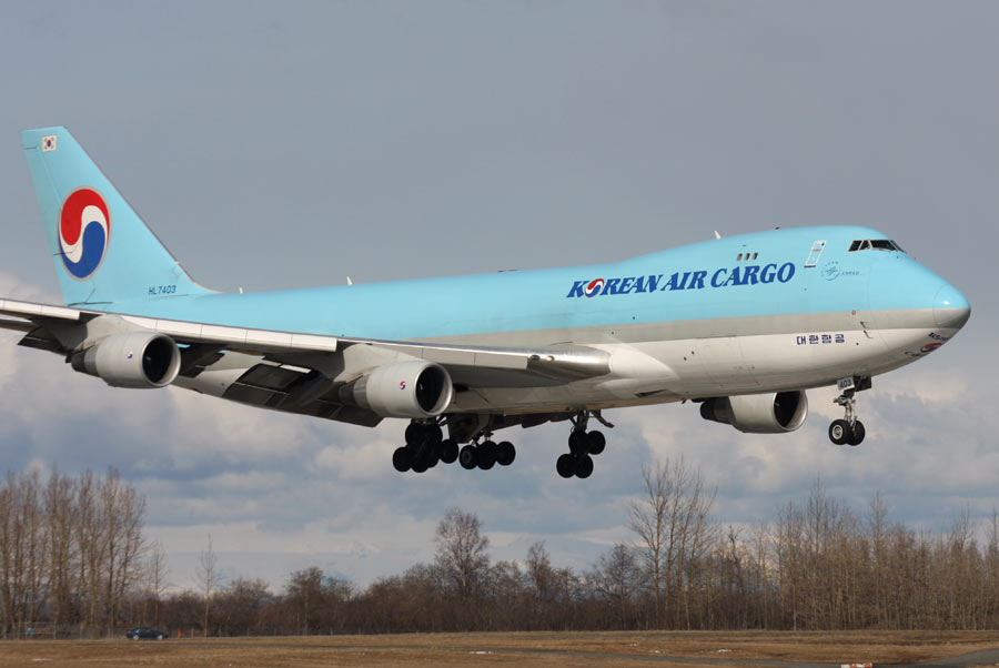 Boeing 747-400F Korean Air Cargo