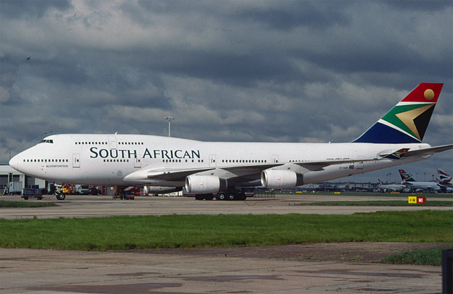 Boeing 747-400 South African Airways