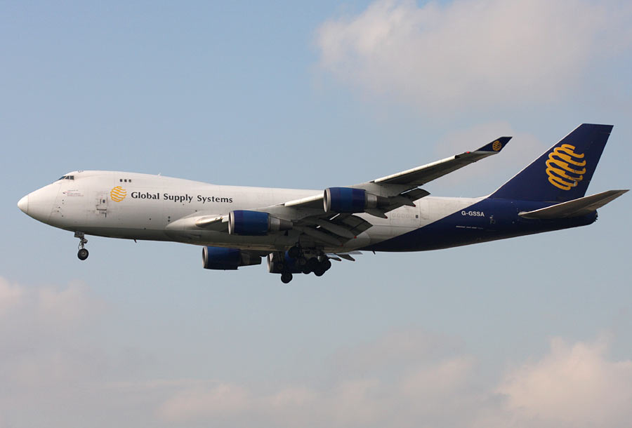 Boeing 747-400F Global Supply Systems
