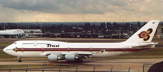Boeing 747 Thai Airways Boeing 747-400 Thai