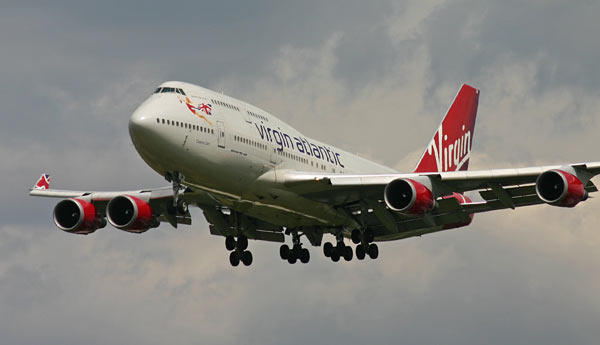 Boeing 747 Jumbo Jet Virgin Atlantic