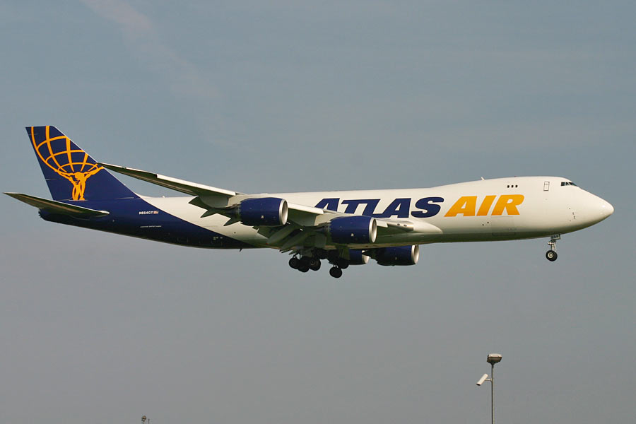 Boeing 747-800F - Atlas Air