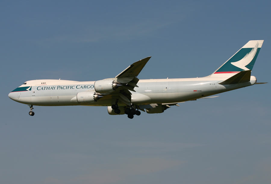 Boeing 747-8F Cathay Pacific