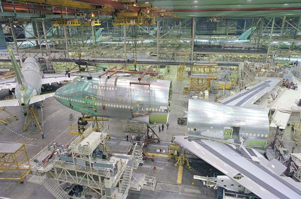 Boeing 747-400 Production