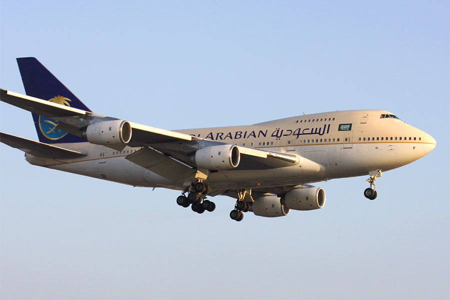 Boeing 747SP - Saudi Aabian Airlines
