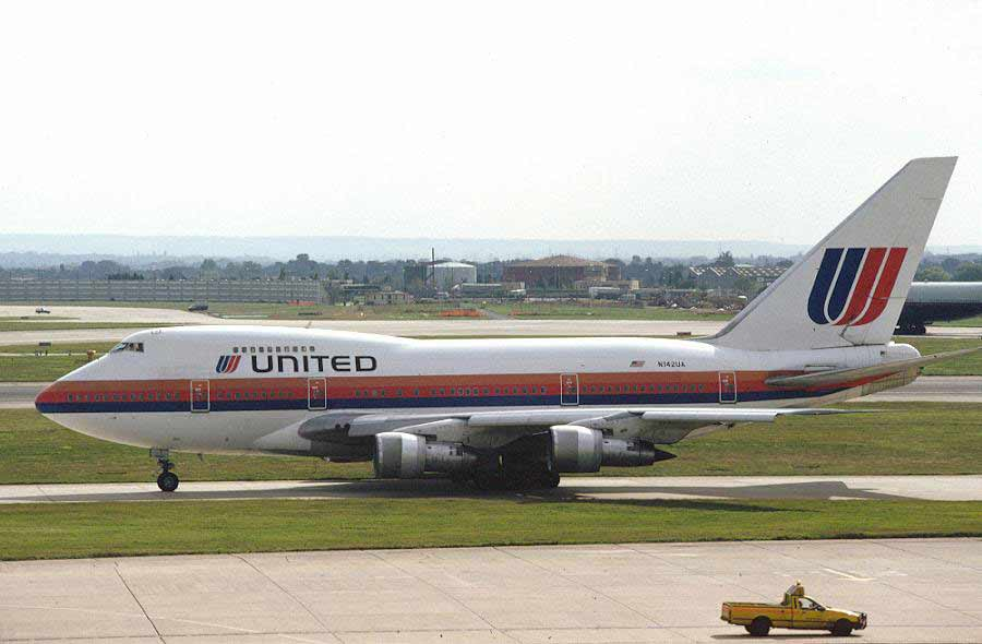 Boeing 747SP - United Airlines