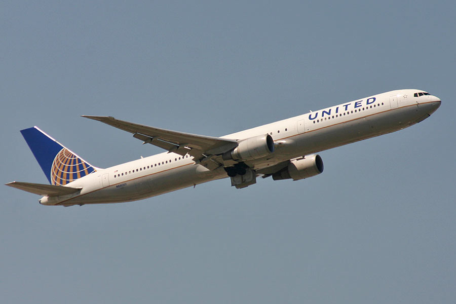 Boeing 767-400 United Airlines