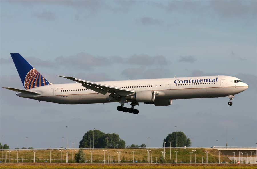 Boeing 767-400 Continental Airlines