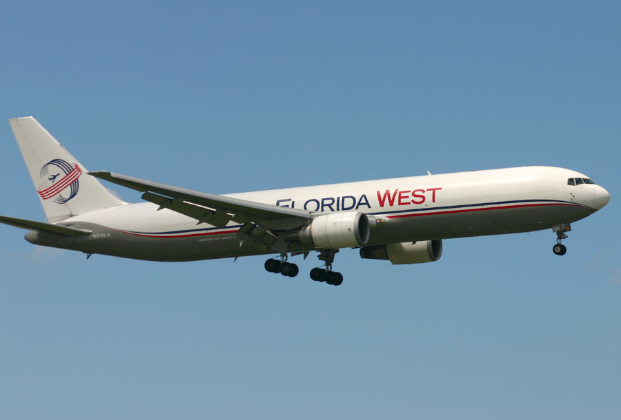 Boeing 767 Florida West