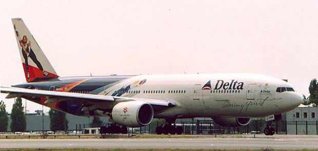 Boeing 777 Triple Seven Delta Air Lines Widebody