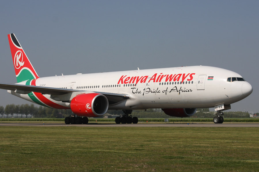 Boeing 777-200 - Kenya Airways