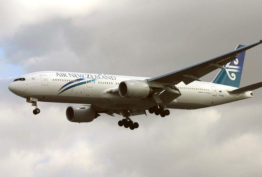 Boeing 777-200 - Air New Zealand
