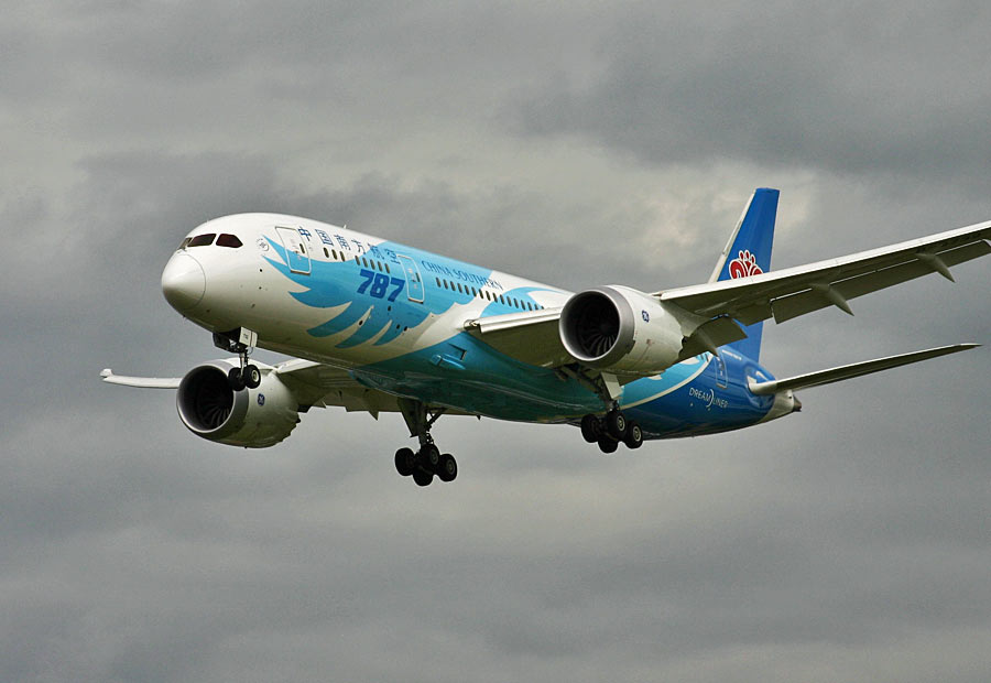 Boeing 787-8 China Southern