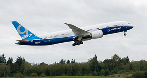 Boeing 787-9 first flight