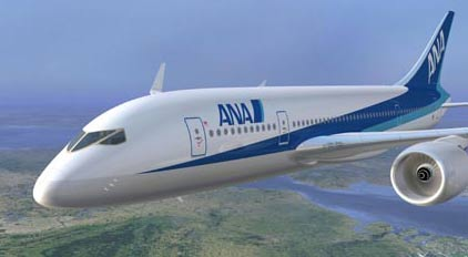 Boeing 787 All Nippon Airlines ANA