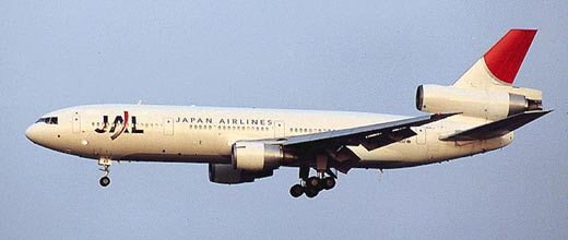 DC-10 JAL Japan Air Lines