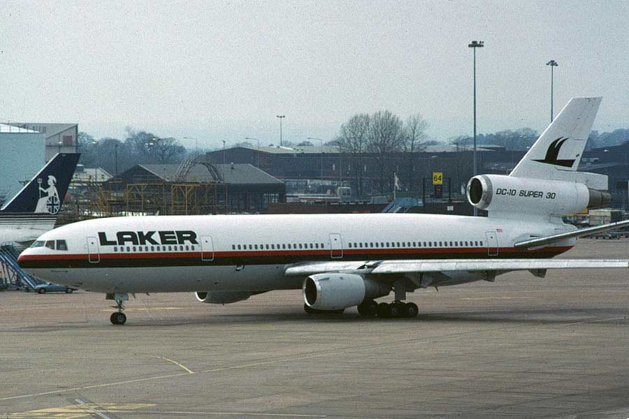 McDonnell Douglas (Boeing) DC-10 Laker Airways
