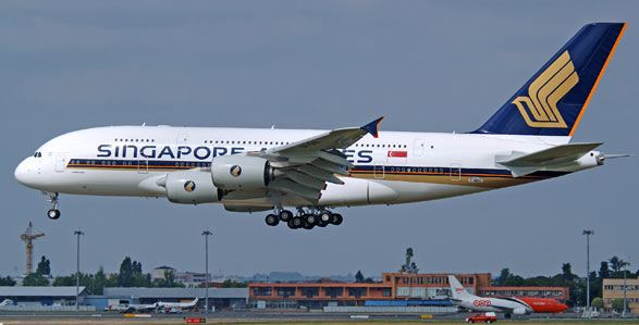 Reuters: Engine fails on Singapore SIA A380, flight turns back to ...